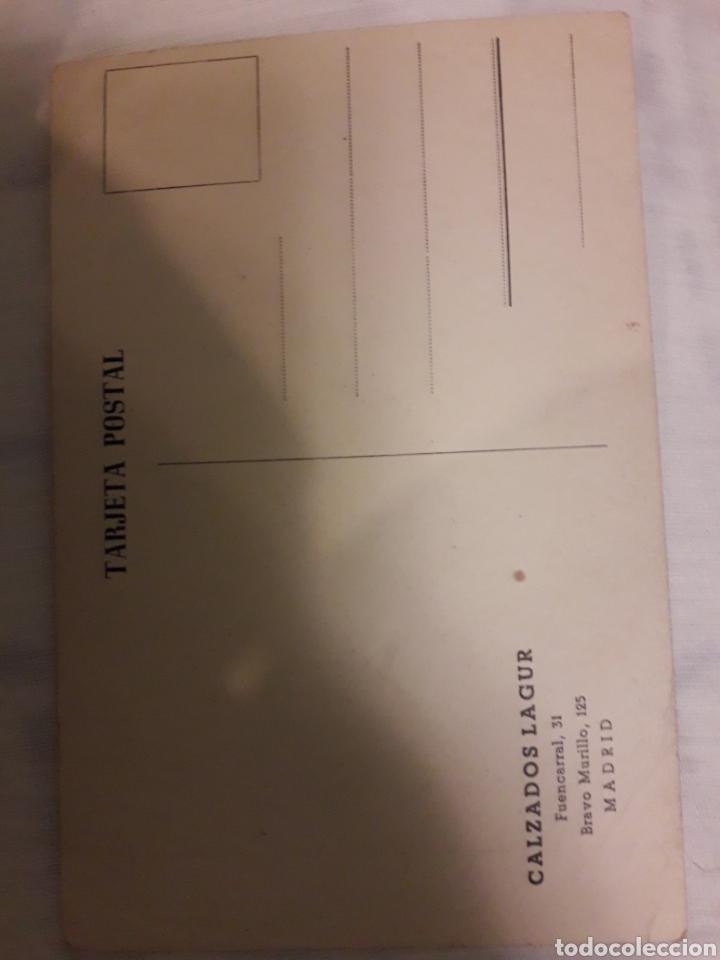 Postales: Postal radio intercontinental Madrid antigua Fernando Forner firmada y dedicada - Foto 2 - 194249215