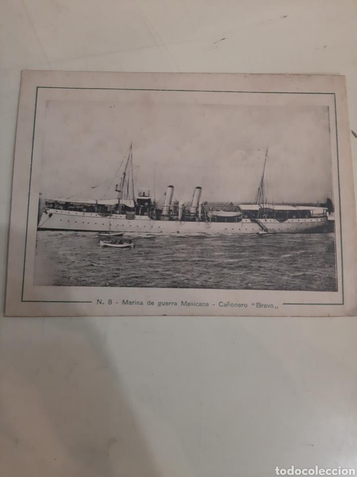 BARCO BRAVO CAÑONERO MARINA MÉXICO (Postales - Postales Temáticas - Barcos)