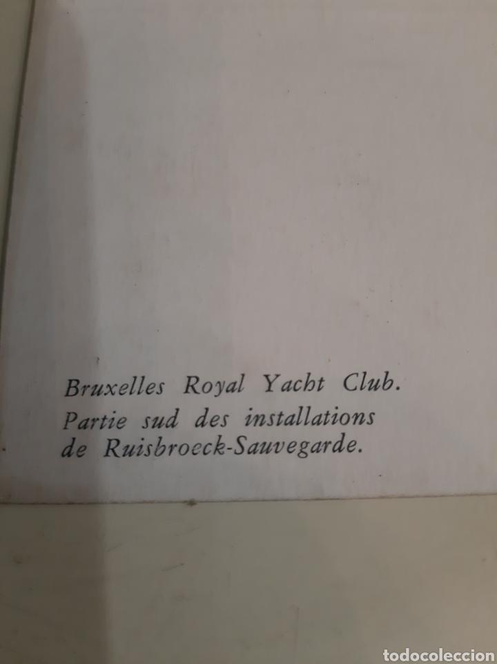 Postales: Bruxelles Bélgica Royal Yacbt Club barcos muelle - Foto 2 - 194264026