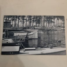Postales: BRUXELLES BÉLGICA ROYAL YACBT CLUB BARCOS MUELLE. Lote 194264026