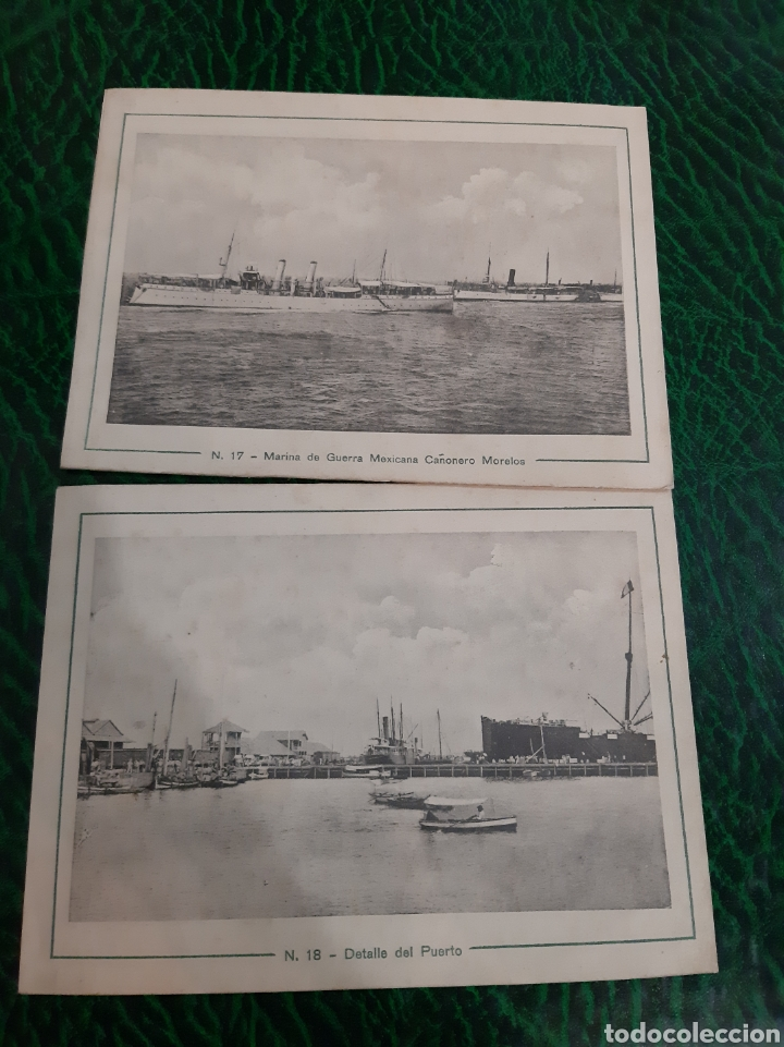 FOTOS CUBA MUELLE FISCAL BARCOS CAÑONERO MORELOS (Postales - Postales Temáticas - Barcos)