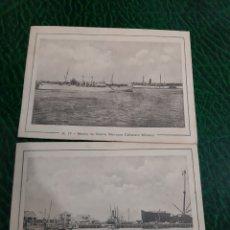 Postales: CUBA FOTOS MUELLE FISCAL BARCOS CAÑONERO MORELOS. Lote 194307146