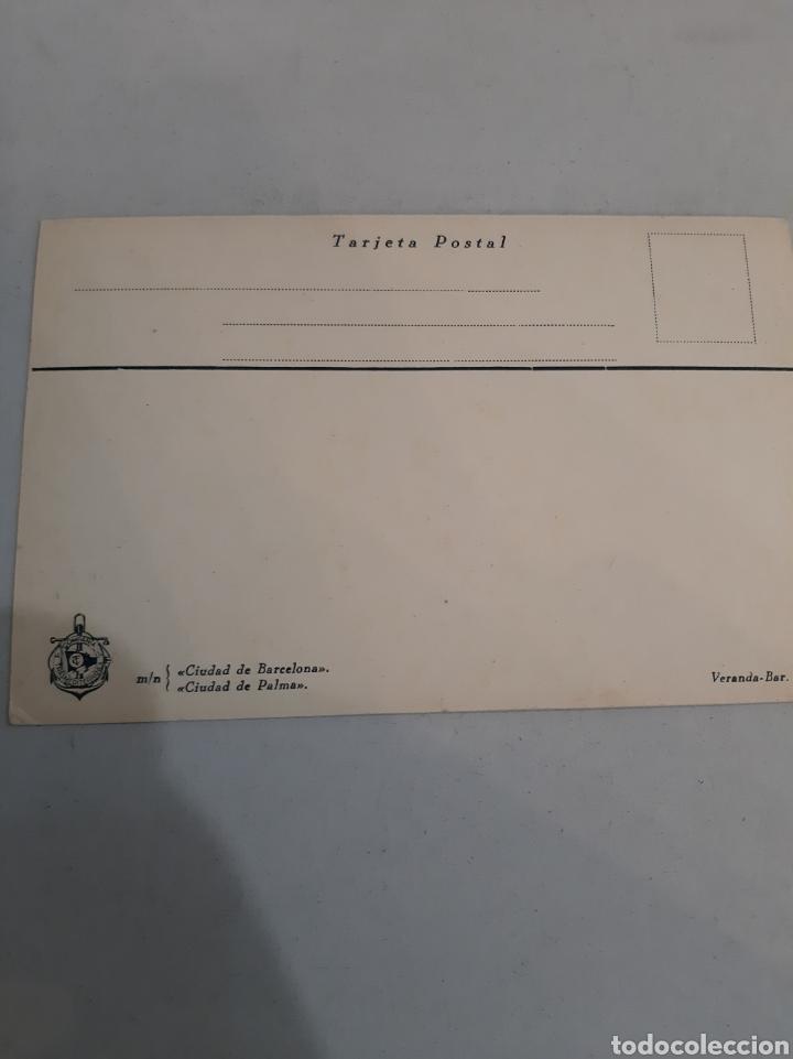 Postales: Compañía Trasmediterranea ciudad Barcelona ..ciudad Palma - Foto 2 - 194393135