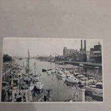 Postales: BRUXELLES ZROYAL YACBT CLUB BARCOS. Lote 194502520
