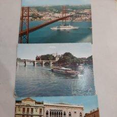 Postales: BARCO PORTUGAL GONDOÑA VENECIA PARIS BARCO PONT NEUF. Lote 194600648