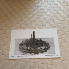 Postales: POSTAL POST CARD BARCO WOOLWICH FERRY HUTTON. Lote 194668526