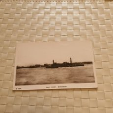 Postales: POSTAL POST CARD BARCO FREE FERRY WOOLWICH. Lote 194669340