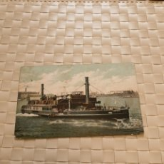 Postales: POSTAL POST CARD BARCO THE FREE FERRY WOOLWICH. Lote 194669851