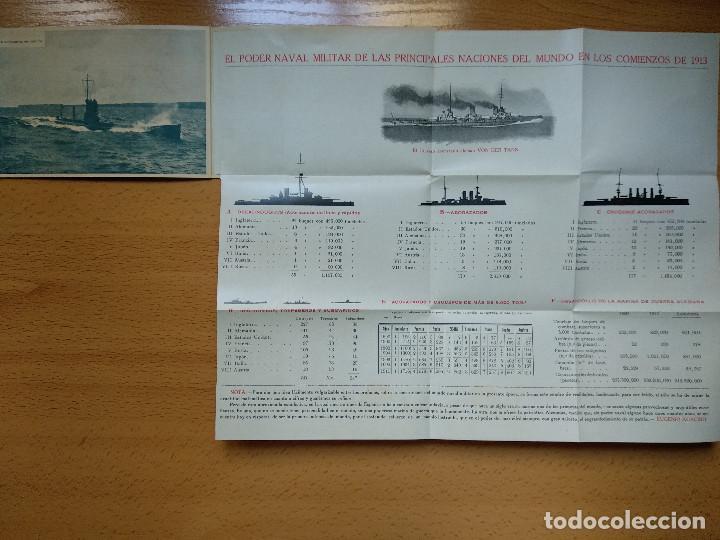 Postales: Postales Marítimas y Patrióticas. Serie verde. Ed.E.Agacino.Barcelona. - Foto 9 - 194884860