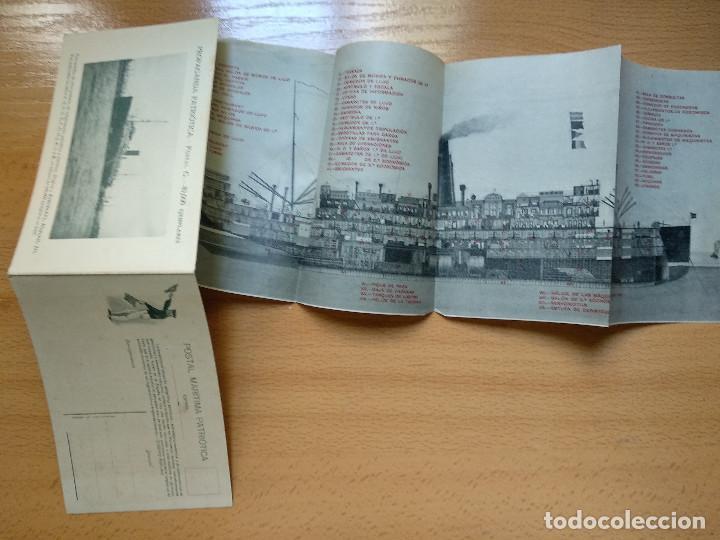 Postales: Postales Marítimas y Patrióticas. Serie verde. Ed.E.Agacino.Barcelona. - Foto 10 - 194884860