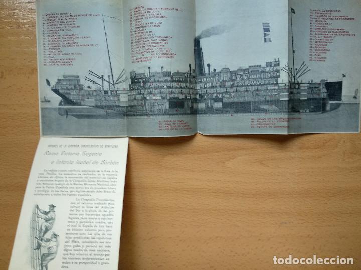 Postales: Postales Marítimas y Patrióticas. Serie verde. Ed.E.Agacino.Barcelona. - Foto 11 - 194884860