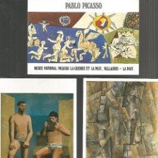 Postales: PABLO PICASSO.COLECCIÓN DE 33 POSTALES DE OBRAS REALIZADAS POR EL PINTOR MALAGUEÑO. Lote 194988480