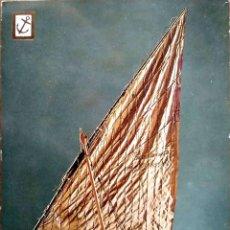 Postales: HISTORIA DEL MAR. 24 MODELO DE LA BARCA DE PESCA PEDRO FIGUEROLA DE TORREDEMBARRA. ESCUDO DE ORO. NU. Lote 195064573