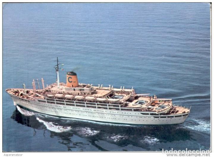 FEDERICO-C-ANTIGUA POSTAL COMPAÑIA GENERAL TRANSATLANTICO (Postales - Postales Temáticas - Barcos)