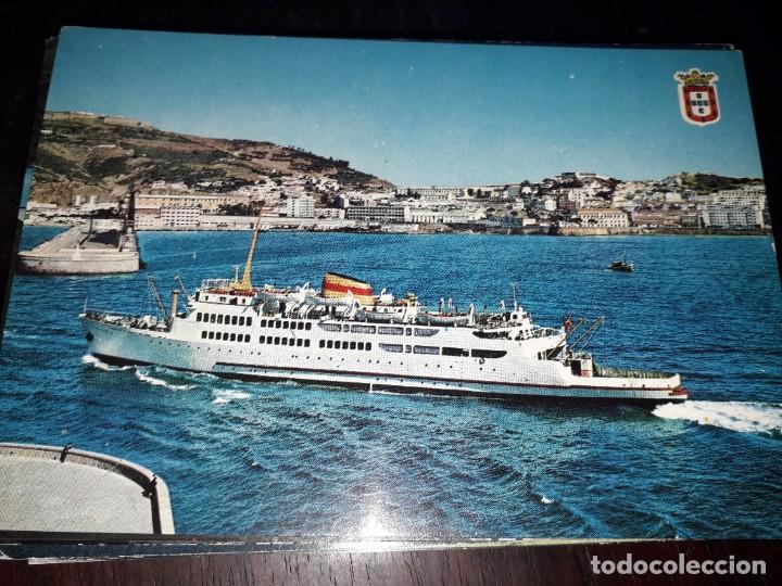 Nº 36156 POSTAL CEUTA BARCO TRANSBORDADOR VIRGEN DE AFRICA (Postales - Postales Temáticas - Barcos)