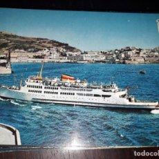 Postales: Nº 36156 POSTAL CEUTA BARCO TRANSBORDADOR VIRGEN DE AFRICA. Lote 195253791