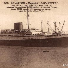 Cartes Postales: PAQUEBOTE LAFAYETTE ORION, ORIENT LINE. CARGO SHIP. Lote 195757383