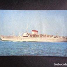 Postales: POSTAL BARCO. AUGUSTUS. GIULIO CESARE. ITALIA. . Lote 195987518