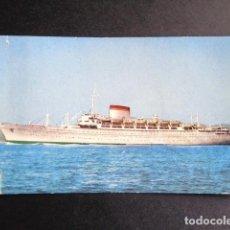Postales: POSTAL BARCO. AUGUSTUS. GIULIO CESARE. ITALIA. GENOVA.. Lote 195987672