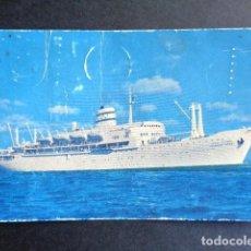 Postales: POSTAL BARCO. ISRAEL. NAVIGATION COMPANY LTO. THOEDOR HERZL.. Lote 195988593