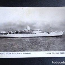 Postales: POSTAL BARCO. THE PACIFIC STEAM NAVIGATION COMPANY. REINA DEL MAR. CIRCULADA. AÑO 1964. . Lote 195989013