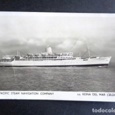 Postales: POSTAL BARCO. THE PACIFIC STEAM NAVIGATION COMPANY. REINA DEL MAR.. Lote 195989075