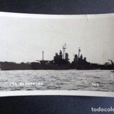 Postales: POSTAL FOTOGRÁFICA BARCO. BREMERTON. BARCO MILITAR. . Lote 195990580