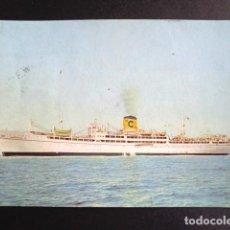 Postales: POSTAL BARCO. ANDREA C. CIRCULADA. AÑO 1964. . Lote 195992057