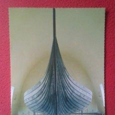 Postales: POSTAL CARTE POSTALE POST CARD GRAN TAMAÑO OSLO NORWAY NORUEGA NORGE THE VIKING SHIPS MUSEUM VIKINGO. Lote 197744257