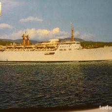 Postales: POSTAL BARCO COMPAÑIA TRANSMEDITERRANEA. Lote 198803091