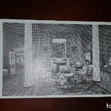 Postales: 7 POSTALES DEL INTERIOR DE LOS VAPORES REINA VICTORIA EUGENIA E INFANTA ISABEL DE BORBÓN. Lote 199330585