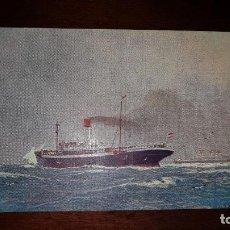 Postales: VAPOR DE CORREO SANTA FÉ. Lote 199332683