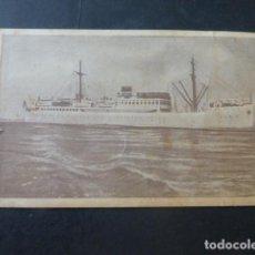 Postales: COMPAÑIA TRASMEDITERRANEA BARCO CIUDAD DE VALENCIA CIUDAD DE ALICANTE. Lote 204062651