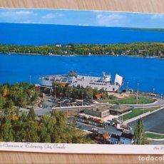 Postales: TARJETA POSTAL - M. S. CHI-CHEEMAUN EN DOCKS TOBERMORIA - ONTARIO CANADÁ - BARCOS. Lote 206254870