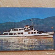 Postales: TARJETA POSTAL - THUNERSEE MS NIEDERHORN - BARCOS. Lote 206343526