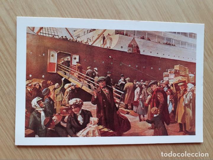 TARJETA POSTAL - IR AL OESTE JOVEN - BARCOS (Postales - Postales Temáticas - Barcos)
