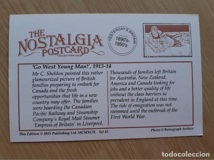 Postales: TARJETA POSTAL - IR AL OESTE JOVEN - BARCOS - Foto 2 - 206345880