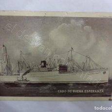Postales: BUQUE CABO DE BUENA ESPERANZA. POSTAL YBARRA & CÍA.. Lote 206421237
