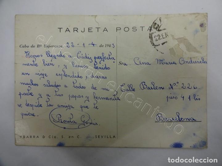 Postales: Buque CABO DE BUENA ESPERANZA. Postal Ybarra & Cía. - Foto 2 - 206421237