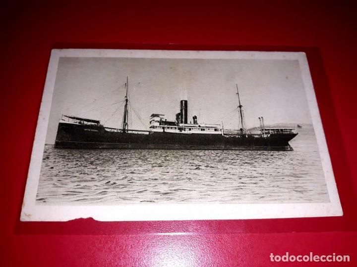 """VAPOR """" CAPITAN SEGARRA """" COMPAÑIA TRANSMEDITERRANEA SIN CIRCULAR (Postales - Postales Temáticas - Barcos)"""