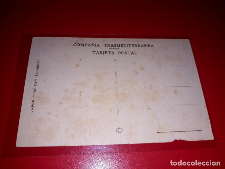 "Postales: Vapor "" Capitan Segarra "" Compañia Transmediterranea Sin circular - Foto 2 - 206510146"