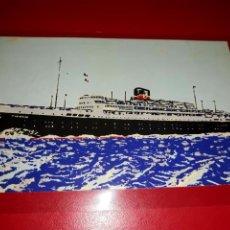 "Postales: TRANSPORTS MARITIMES MARSEILLE-PARIS "" PROVENCE "" SIN CIRCULAR. Lote 206512852"