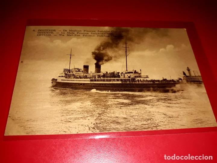 C.D. OSTENDE SIN CIRCULAR (Postales - Postales Temáticas - Barcos)