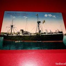 "Postales: MARINA DE GUERRA ESPAÑOLA HISTORICA FRAGATA "" NUMANCIA ""SIN CIRCULAR. Lote 206553116"