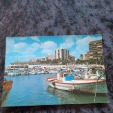 Postales: TORREVIEJA ALICANTE PUERTO BARCOS COMERCIALES VILPA 1982. Lote 206871962