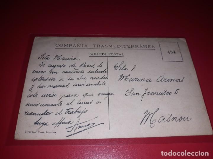 Postales: Compañia Transmediterranea Escrita - Foto 2 - 207258513