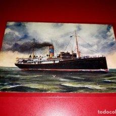 Postales: COMPAÑIA TRANSMEDITERRANEA ESCRITA. Lote 207258513