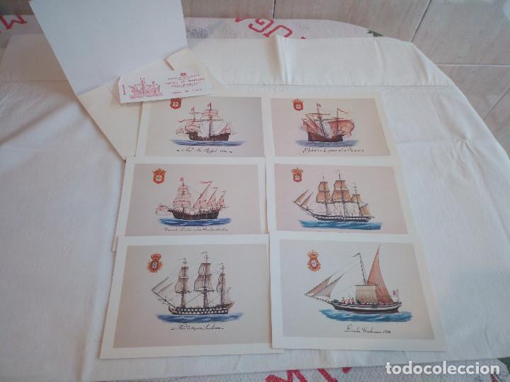 Postales: 22-PRECIOSA SERIE DE POSTALES, NAVIOS, MUSEO DE LA MARINA, PORTUGAL - Foto 7 - 207568662