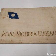 Postales: BLOC DE 8 POSTALES REINA VICTORIA EUGENIA - COMPAÑÍA TRASATLÁNTICA ESPAÑOLA. Lote 210660985