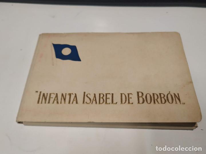 BLOC DE 18 POSTALES INFANTA ISABEL DE BORBÓN (Postales - Postales Temáticas - Barcos)
